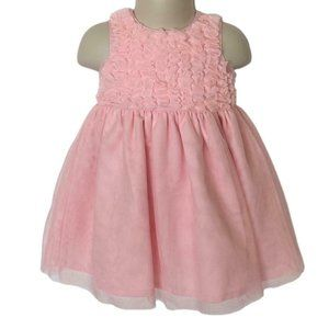 Carters Baby Girl 9 Months Pink Dress Tulle